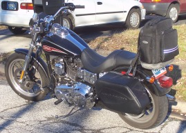 Dyna Touring Bike Fully Loaded - Living Large!