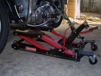 Craftsman motorcycle and ATV jack