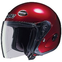 HJC Helmet in Wine Red