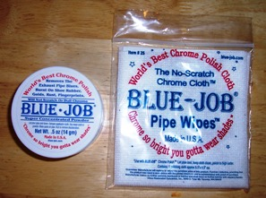 Blue Job and Blue Job Pipe Wipes