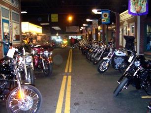 DuBois Harley Davidson Inside