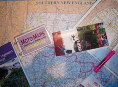 New England Motorcycle Trip Planning