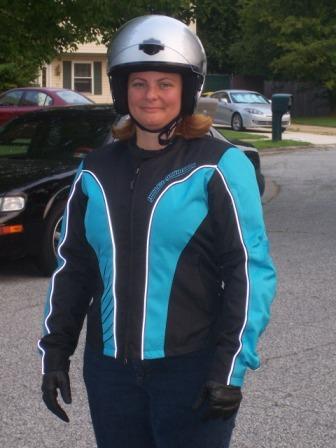 Diana's new Harley Davidson Jacket