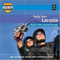 Laconia Motorcycle Week Rally Map