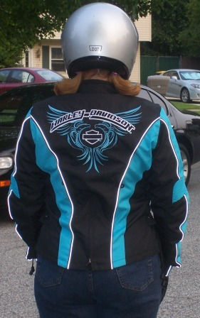 Jay's favorite butt, and rear view of jacket