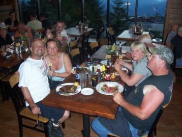Dinner at Foxfire Grill