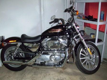 2001 Harley Davidson XLH883 Hugger