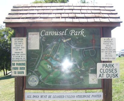 Carousel Park has alot of rules