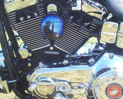 USMC nam bike horn cover