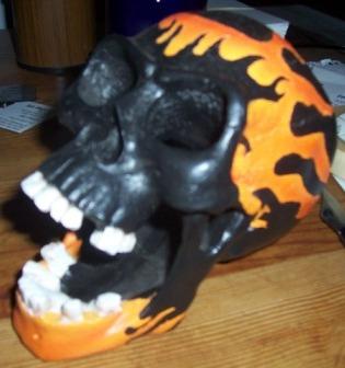 I think that's my skull