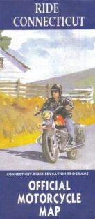 Ride Connecticut Official Motorcycle Map