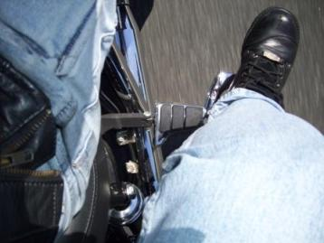Swingwing Footpegs on the highway
