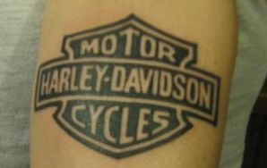 Joker's first tattoo