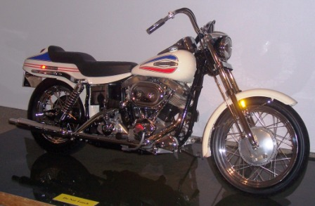 1971 FX 1200 Super Glide the first factory custom