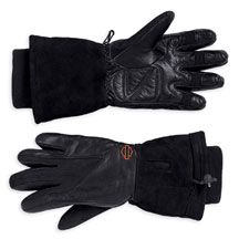 Harley Davidson Women's battery operated heated gloves