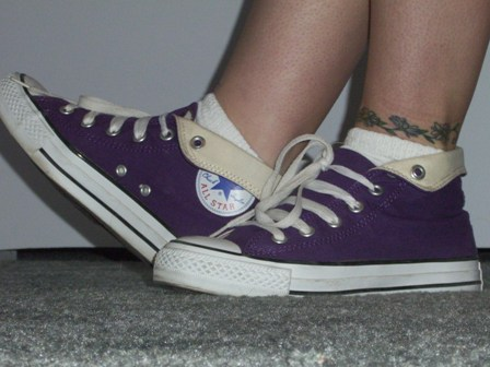 Purple Chucks