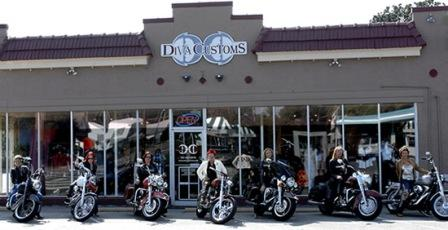 Diva Customs in Virginia Beach store front
