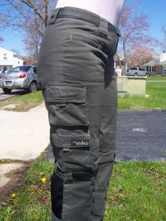 Brosh womens riding pants with Kevlar