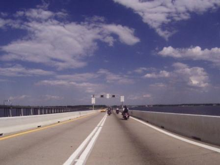 Road Captain USA » Crossing the Chesapeake Bay Bridge on my