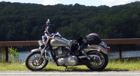 Diana's Bike at Harriman State Park