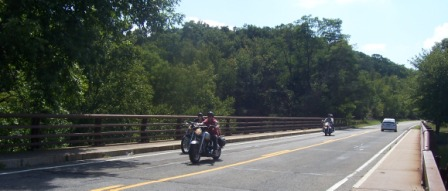 Motorcycles in Harriman