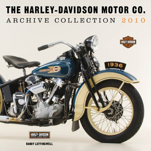 Harley-Davidson Archives Collection 2010 Calendar