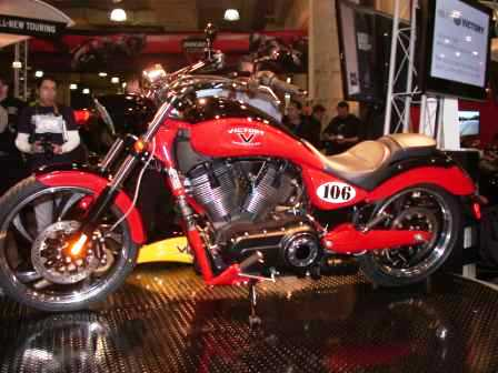 Victory limited edition Vegas LE 106cu 6 speed