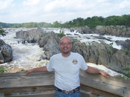 Jay at Great Falls