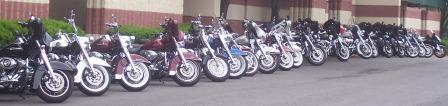 alot of bikes in Fort Washington