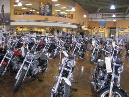 Winchester Harley-Davidson Showroom