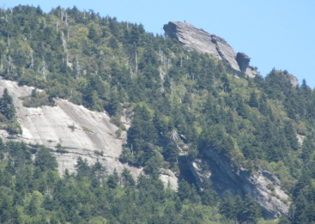 Grandfather Mountain at 20x zoom