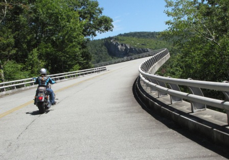 return to Linn Cove viaduct
