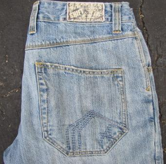 lodown jean rear pocket