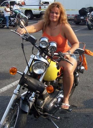 Diana in Ocean City Bike Week