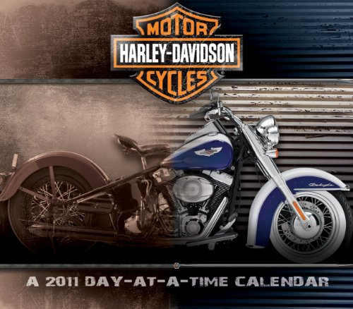 Harley-davidson day at a glance calendar 2011