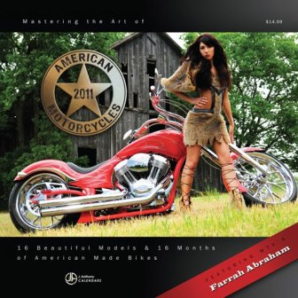 mastering the art of american motorcycles calendar 2011