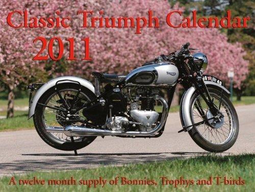 2011 classic triumph calendar