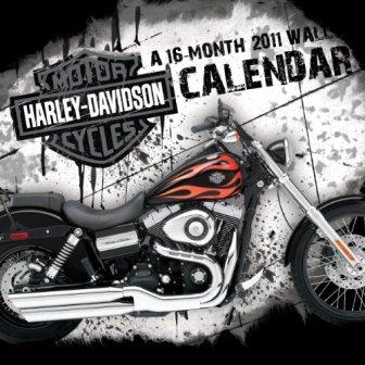 harley-davidson 16 month wall calendar