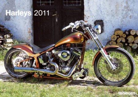 harley-davidson 2011 A3 calendar