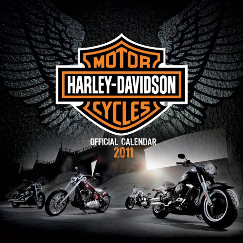 Official Harley-davidson calendar 2011