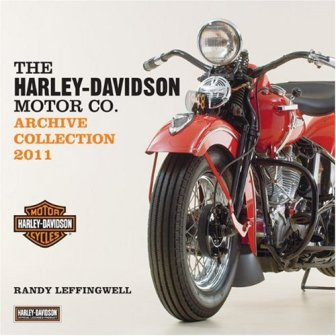 harley-davidson archive collection 2011 calendar