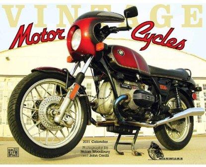 2011 vintage motorcycle calendar