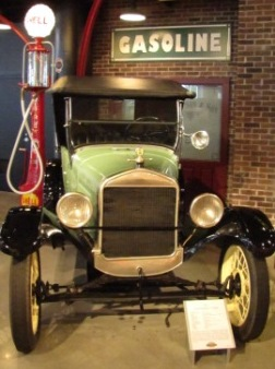 green Ford Model T
