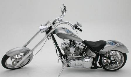 Orange County Chopper hair Club Bike