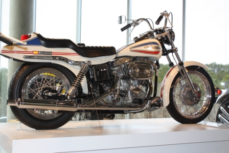 1970 Harley davidson Super Glide the first factory custom