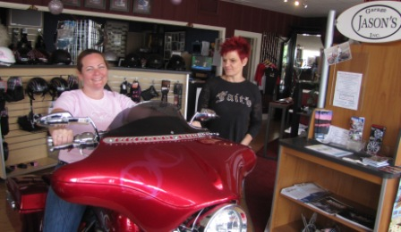 visit diva customs on women rider day