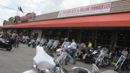 Fort washington pin stop rolling thunder 2011