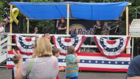 the band at rolling thunder XXiV