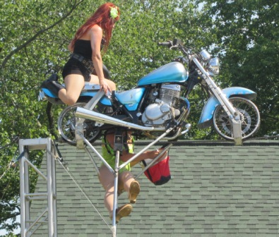 your local high wire motorcycle mechanic is here