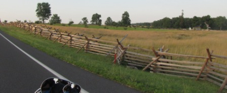 more battle fences along gettysburg
